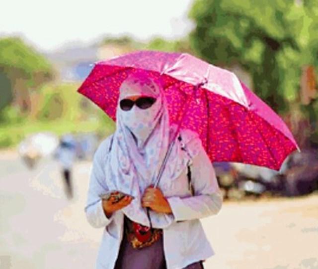 जबलपुर में तेज धूप