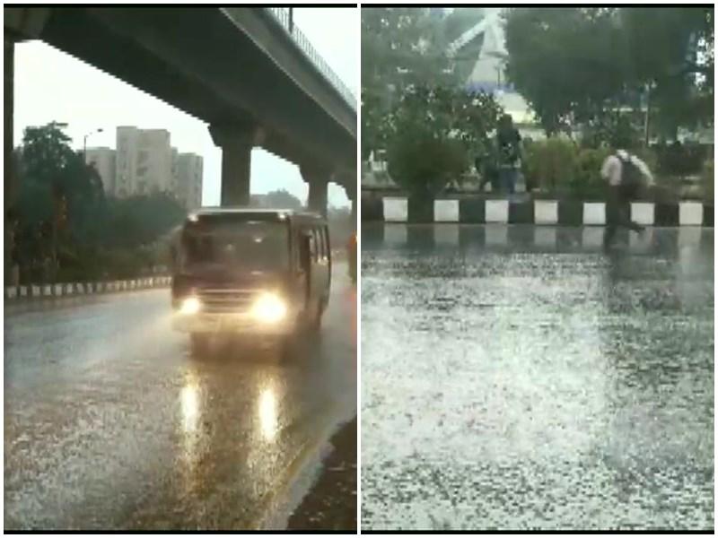 Delhi Air Pollution: दिल्ली के कई हिस्सों में बारिश से मिली राहत, प्रदूषण में आई कमी