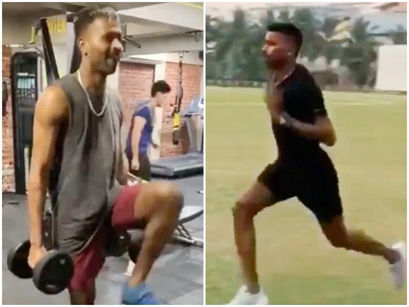 Hardik Pandya comeback: सर्जरी के बाद पहली बार मैदान में दिखे हार्दिक पांड्या, Video किया पोस्ट