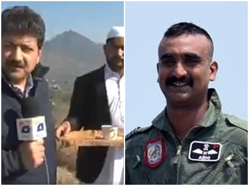 विंग कमांडर Abhinandan को चाय पिलाने वाले शख्स का इंटरव्यू वायरल, पाक पत्रकार का उड़ा मजाक