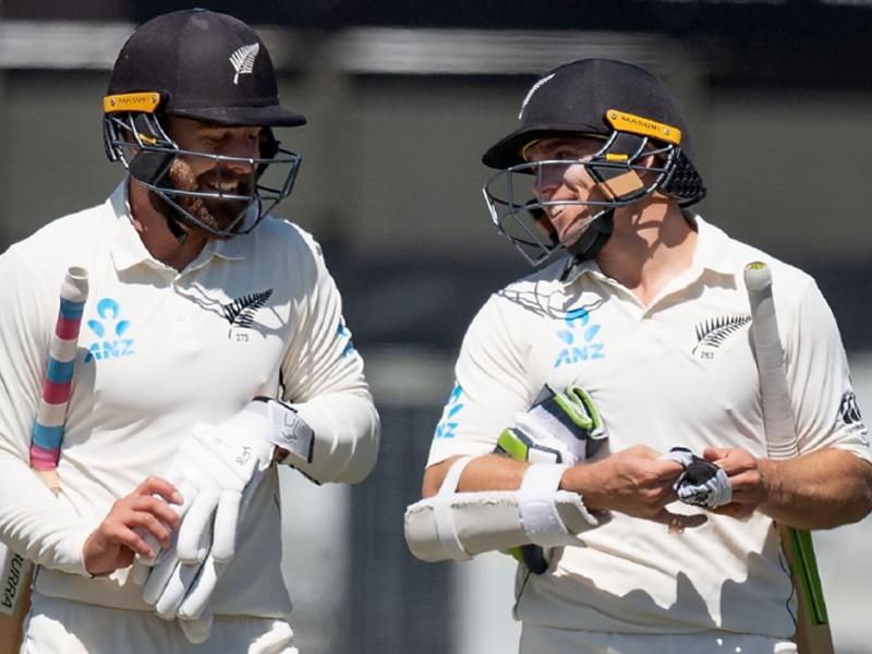 Ind vs NZ 2nd Test: न्यूजीलैंड दूसरे टेस्ट के पहले ही दिन मजबूत स्थिति में
