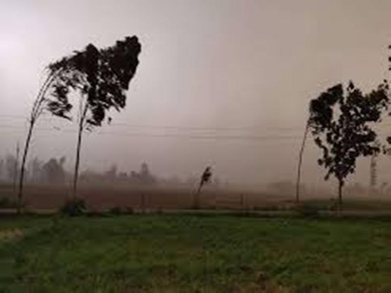Chhattisgarh Weather Update : नौतपा के पांचवें दिन गिरा पारा, तपिश हुई कम