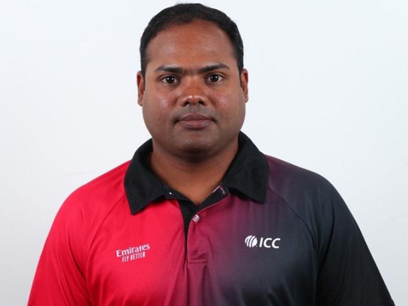 ICC एलीट पैनल में शामिल होने वाले सबसे युवा अंपायर बने इंदौर के Nitin Menon