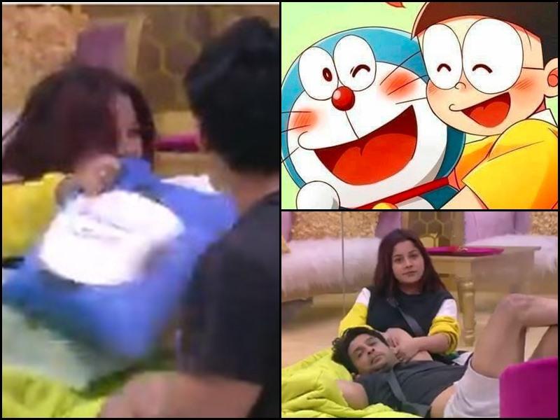 Bigg Boss 13: वीडियो देखकर Sidharth Shukla और Shehnaaz Gill के लिए फैन्स बोले-  ये तो Doraemon और Nobita है