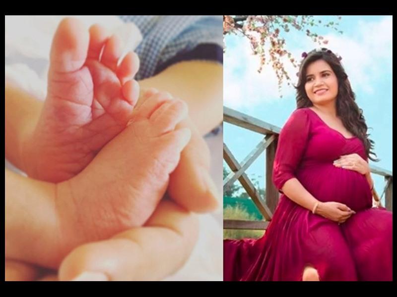 Taarak Mehta Ka Ooltah Chashmah की 'रीटा रिपोर्टर' ने दिया बेटे को जन्म, शेयर की यह प्यारी तस्वीर