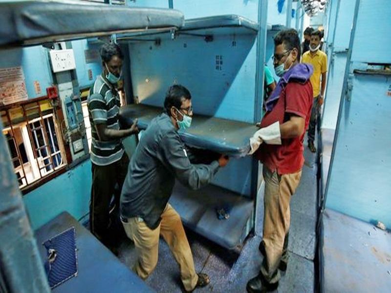 Coronavirus in Raipur : 55 कोच को रेलवे बनाएगा आइसोलेशन वार्ड