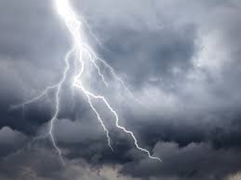 """Chhattisgarh Weather Alert : """"बुलबुल"""" से होगी बारिश, आसमान में छाए बादल"""