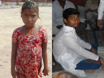 16 year old Peeyush started drowning 2 year old Nehajumped in Narmada