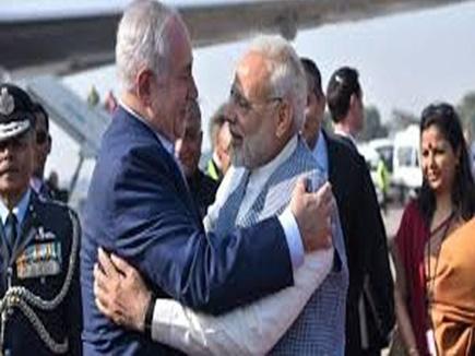 भारत पहुंचे नेतन्याहू, दोनों देशों के बीच आधिकारिक वार्ता सोमवार को