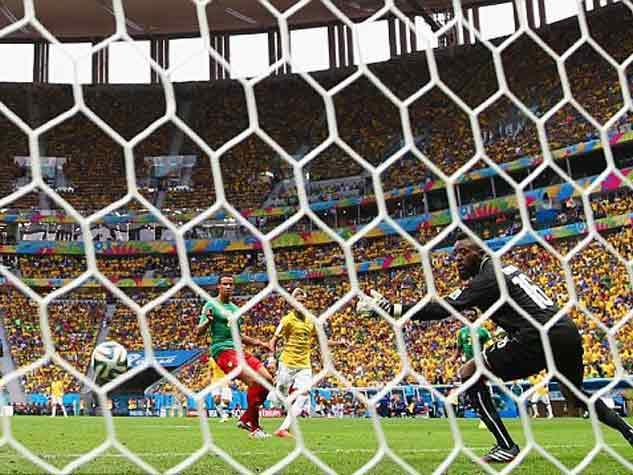 ब्राजील ने लगाई गोल की झड़ी