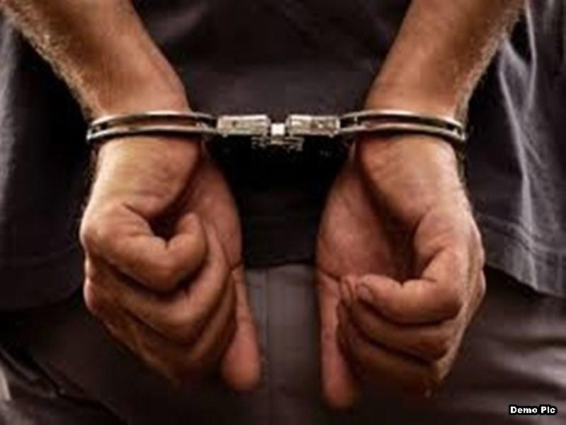 ओसामा बिन लादेन के नाम से गवाह को धमकानेवाला गिरफ्तार