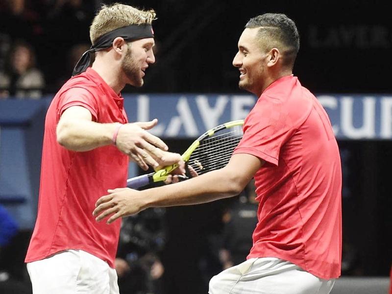 Laver cup tennis tournament: जैक और निक की जोड़ी ने टीम वर्ल्ड के लिए जगाई उम्मीदें, नडाल-सितसिपास की जोड़ी को हराया