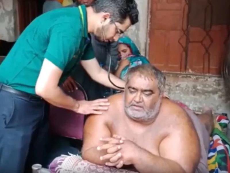 अस्पताल में हंगामे ने ली पाकिस्तान के सबसे वजनी शख्स की जान