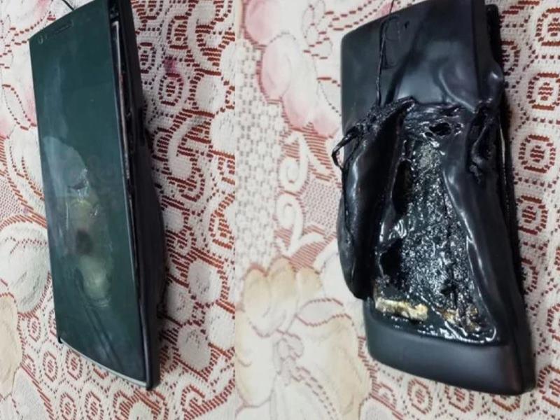 Switched off होने के बाद भी वनप्लस के स्मार्टफोन में लगी आग, यूजर ने पूछे ये सवाल
