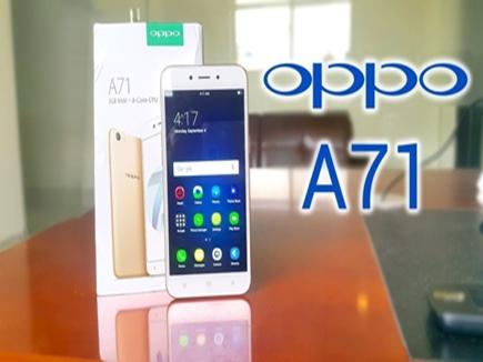 स्मार्ट फोन के बाजार में नई एंट्री, ओप्पो ने किया 9990 रु में ओप्पो A71 लॉन्च