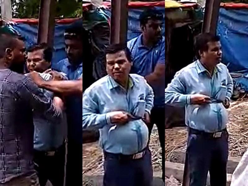 ग्रामीणों ने पंचायत सचिव को बिजली के खंभे से बांधा ! Ratlam  News