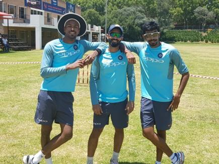 तीन दिन के ब्रेक के बाद भारतीय क्रिकेटरों ने नेट्स पर बहाया पसीना