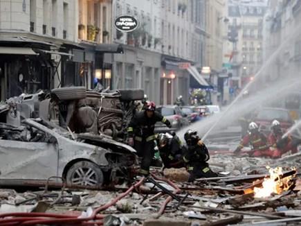 Paris : बेकरी में गैस लीक होने से विस्फोट, 4 की मौत, 47 से ज्यादा घायल