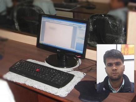 MP TET 2018 : ऑनलाइन परीक्षा में कम्प्यूटर पर नहीं दिखे प्रश्न