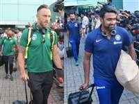 India vs South Africa 3rd Test: भारत और दक्षिण अफ्रीका के खिलाड़ी रांची पहुंचे