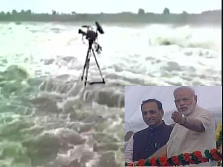मोदी ने बचाई कई कैमरामैन और फोटोग्राफरों की जान