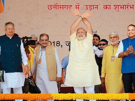 हर हिंसा का जवाब विकास : प्रधानमंत्री मोदी