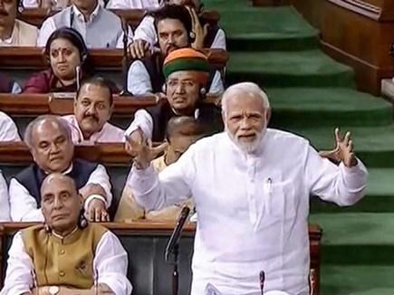 संसद में हंगामे से देश को बड़ा नुकसान : पीएम मोदी