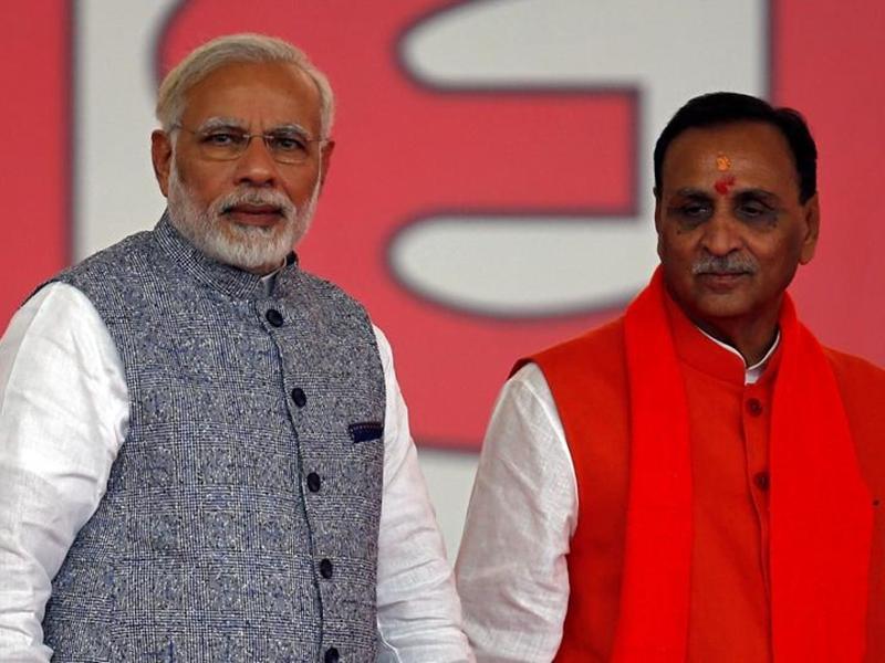 Gujarat: मुख्यमंत्री रुपाणी ने पीएम मोदी की तुलना राजा विक्रमाादित्य से की