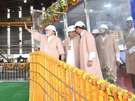 प्रधानमंत्री ने भिलाई स्टील प्लांट में ये किया राष्ट्र को समर्पित