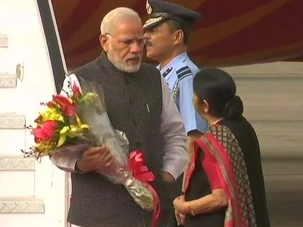 तीन देशों का दौरा पूरा कर भारत लौटे पीएम मोदी