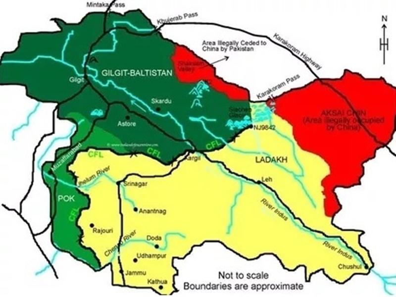 कश्मीर का सिर्फ 45 फीसद हिस्सा है भारत के पास, जानें कितने पर है पाक का कब्जा