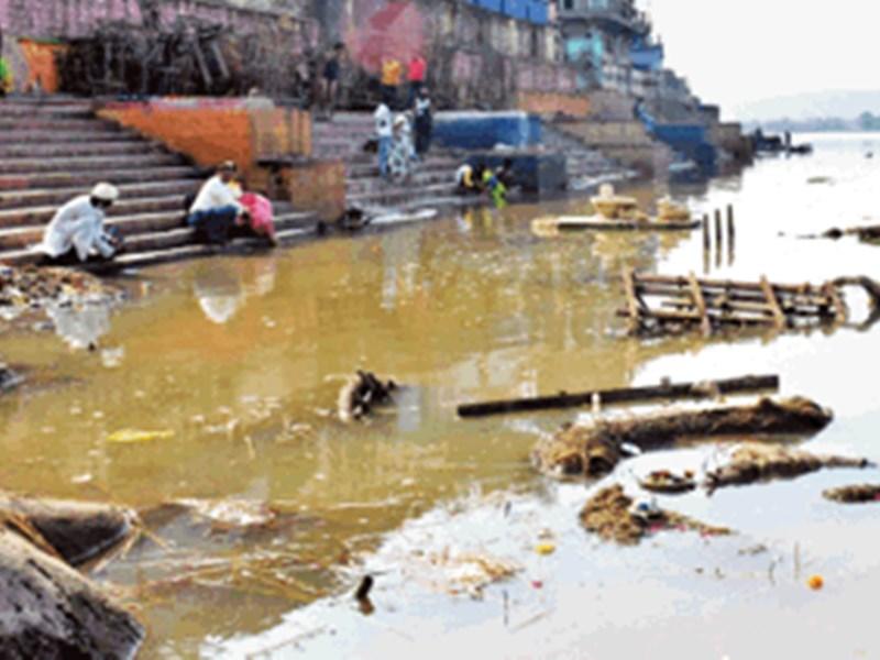 Pollution in Narmada River : नर्मदा के प्रवाह में प्रदूषण का अंत नहीं
