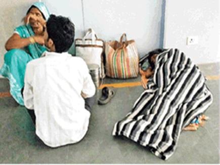 बिलासपुर : दो घंटे तक फर्श पर पड़ी दर्द से कराहती रही गर्भवती महिला