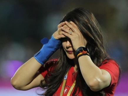 Image result for पंजाब की हार के बाद भड़की प्रीति जिंटा