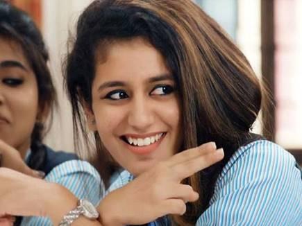 प्रिया प्रकाश वारियर की फिल्म रिलीज होगी हिंदी में, टकराएगी इस बड़ी फिल्म से