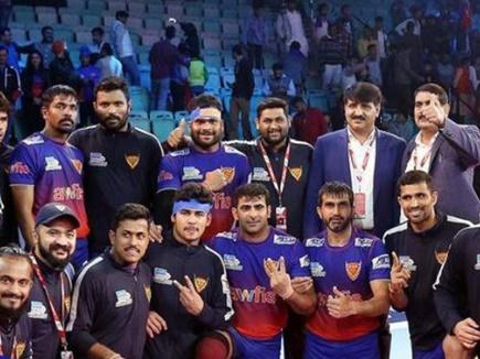 Pro Kabaddi 2018: दिल्ली ने जीत के साथ किया घरेलू चरण का अंत