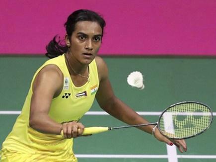 National Badminton Championships: सिंधु अंतिम आठ में, खराब कोर्ट के कारण तीन मैच स्थगित