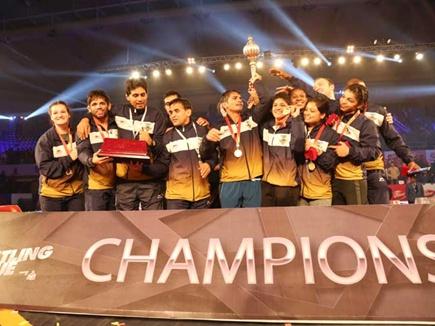 हैमर्स को हराकर प्रो कुश्ती लीग की पहली चैंपियन बनी मुंबई गरुड़