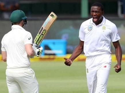 दक्षिण अफ्रीकी गेंदबाज रबाडा पर दो टेस्ट मैचों का बैन