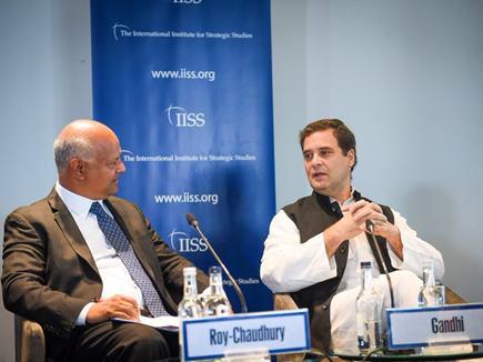 लंदन में राहुल गांधी ने मोदी सरकार पर डोकलाम को लेकर साधा निशाना