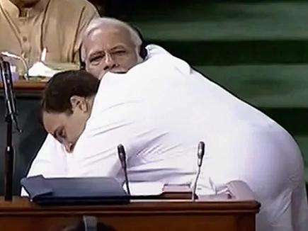 राहुल ने किया खुलासा, इसलिए संंसद में PM मोदी को लगाया था गले