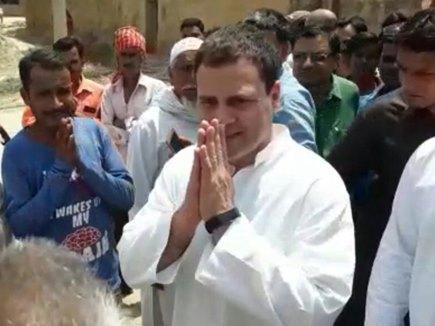 कांग्रेस अध्यक्ष राहुल गांधी पहुंचे अमेठी, कल आ सकती हैं सोनिया गांधी