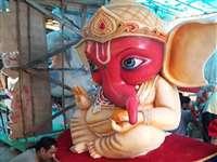 रायपुर में धूमधाम से हुई मंगलमूर्ति की स्थापना