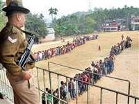 Raigarh Loksabha Election 2019 : विधानसभा की तर्ज पर वोटिंग, भाजपा की राह कठिन