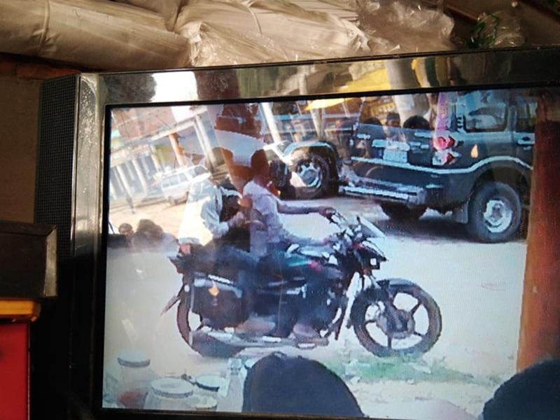 अंबिकापुर : व्यापारी उठाईगिरी का शिकार, CCTV में कैद हुई आरोपितों की तस्वीर