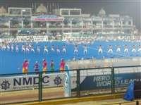 रायपुर में हॉकी वर्ल्ड लीग फाइनल का आगाज़