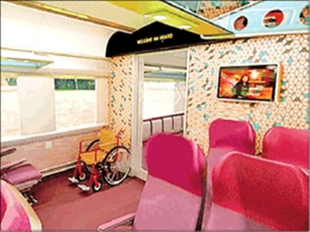 घर के कमरे जैसा होगा शताब्दी का इंटीरियर, यात्रियों को मुफ्त वाईफाई व एलईडी सुविधा