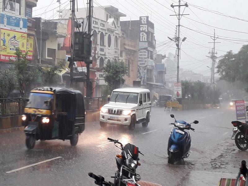 Weather in Madhya Pradesh : डिंडौरी, शहडोल, अनूपपुर में बारिश, मंडला में छाए रहे बादल