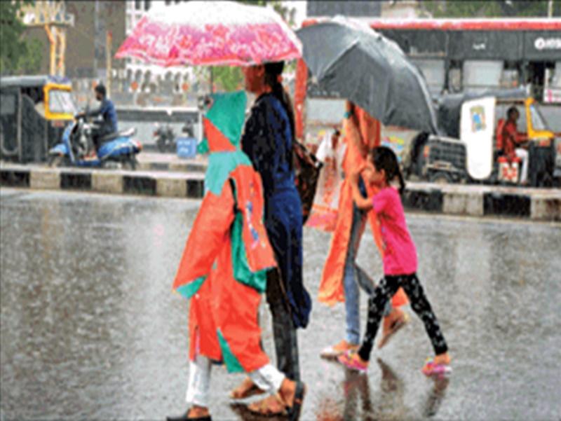 Weather Alert : 100 सेमी हुई बारिश, सीजन के कोटे के लिए चाहिए सिर्फ 9 सेमी पानी
