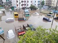 राजधानी भोपाल सहित प्रदेश के कई शहरों में बारिश का कहर